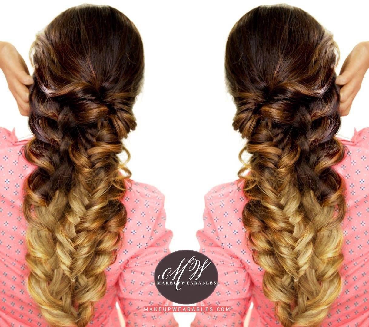 Easy intricate braid tutorial cute braided hairstyles