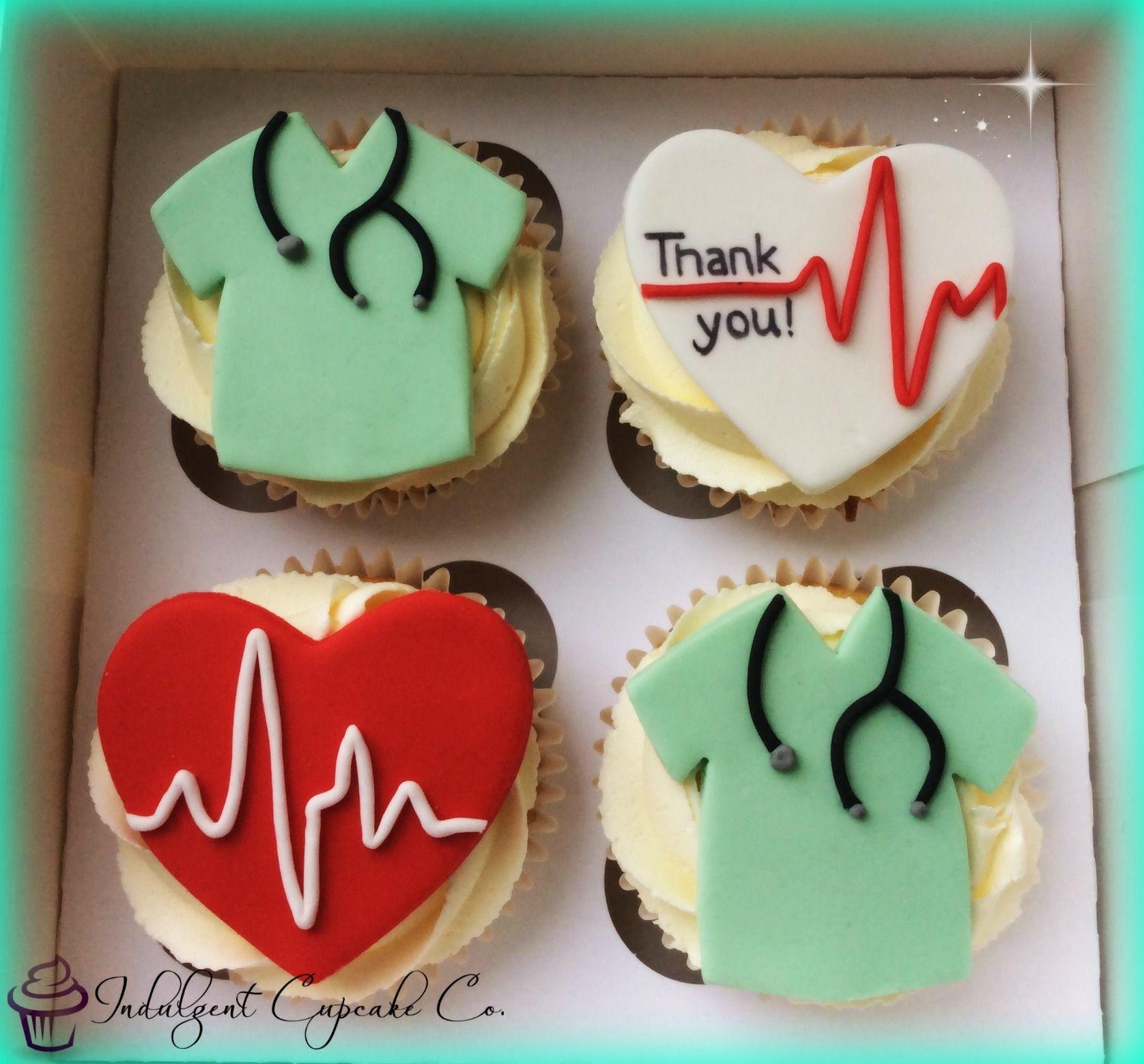 Doctor Surgeon Thank You Cupcakes
