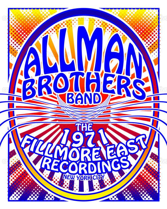 Allman+Brothers+Band+Poster+by+CrissyPie+on+CreativeAllies.com