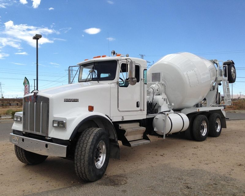 2002 Kenworth W900 Mixer Truck F F Equipment Alta Loma Ca 61 000 Mixer Truck Concrete Truck Trucks