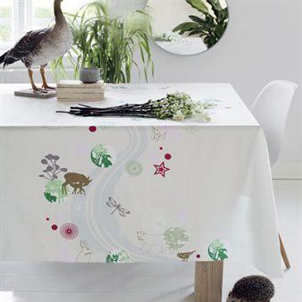Stream Oilcloth Scandinavian Design Center Scandinavian Design Centre Oil Cloth Scandinavian Fabric