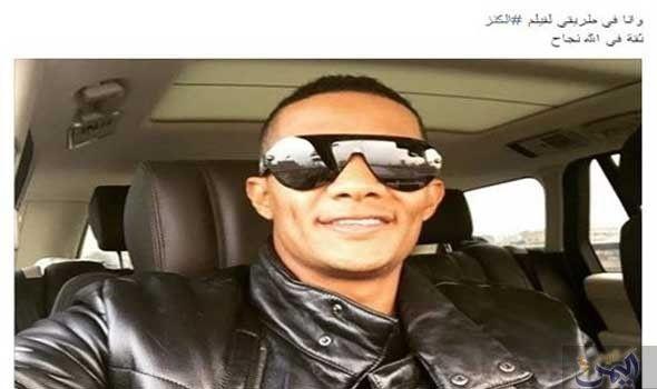 محمد رمضان ينشر صورة أثناء تصوير فيلمه Mens Sunglasses Sunglasses Men