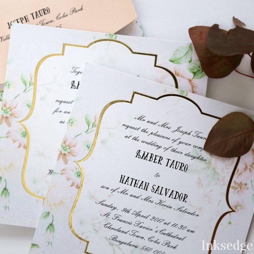32 Elegant Picture Of Example Wedding Invitations Christian