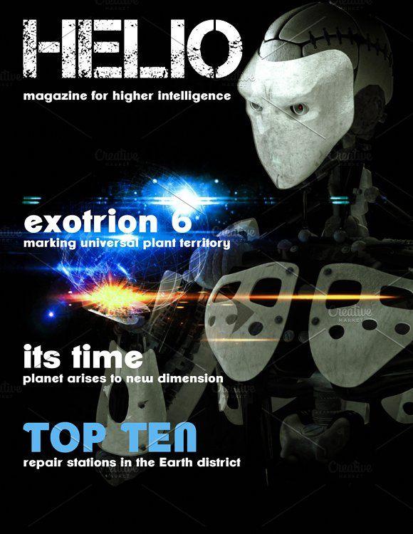 sci fi magazine cover pinterest magazines template and magazine