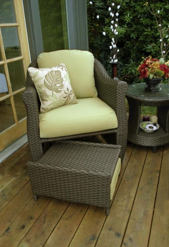 Fantastic Reclining Patio Chairs With Ottoman