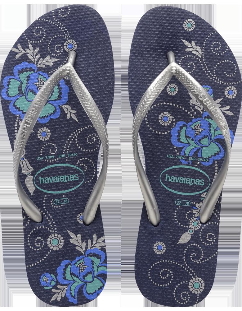 8de4503ab2a8  Havaianas Peony Floral Print Flip Flops - Slim Organic. So  comfortable!