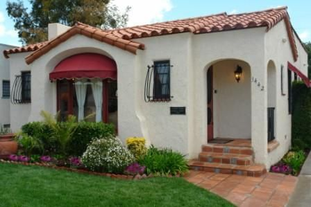 a california classic, the spanish bungalow | exteriors | pinterest
