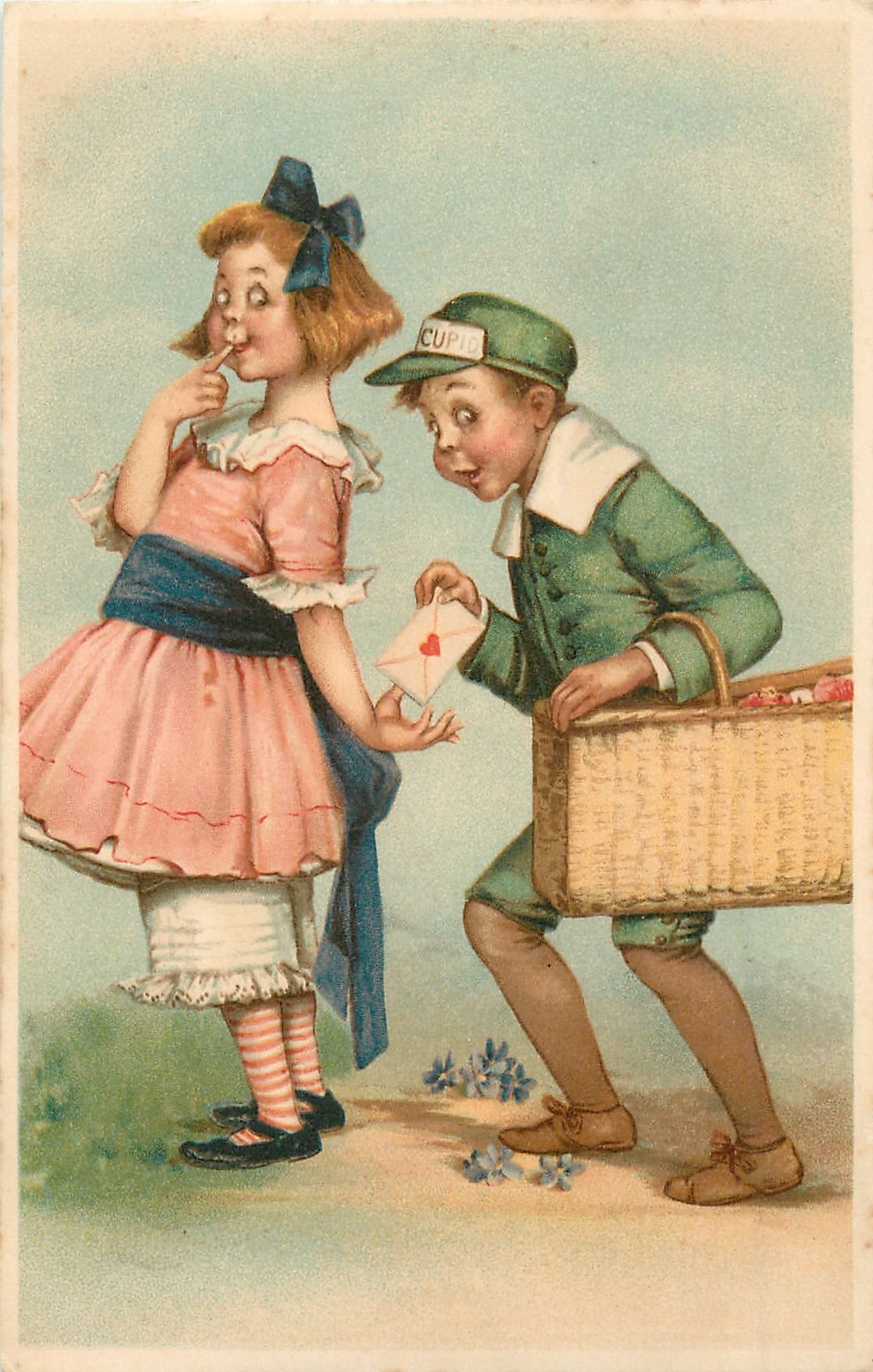 Старые юмористические открытки