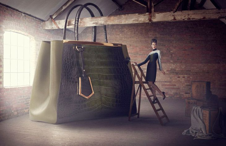 The Big Bag Theory by Lucia Giacani for Harrods Magazine