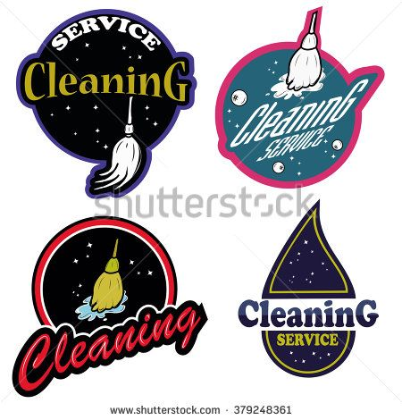 cleaning service logo professional creative pinterest