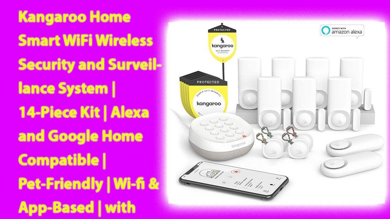 Kangaroo Home Smart WiFi Wireless Security and