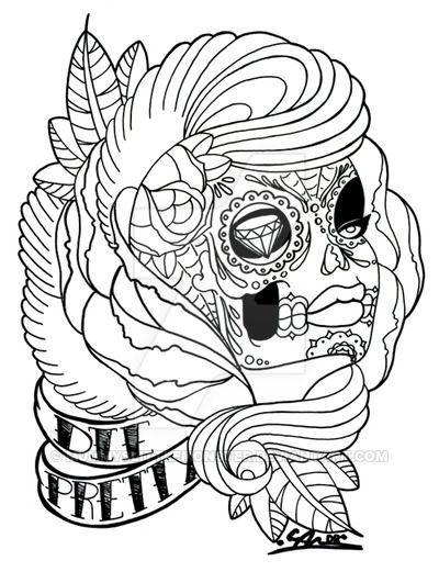Die Pretty by MummysLittleMonster on DeviantArt | Calaveras ...