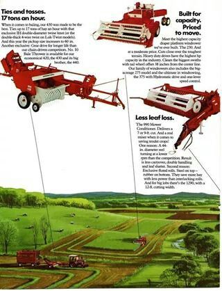 IH Hay Equipment Ad
