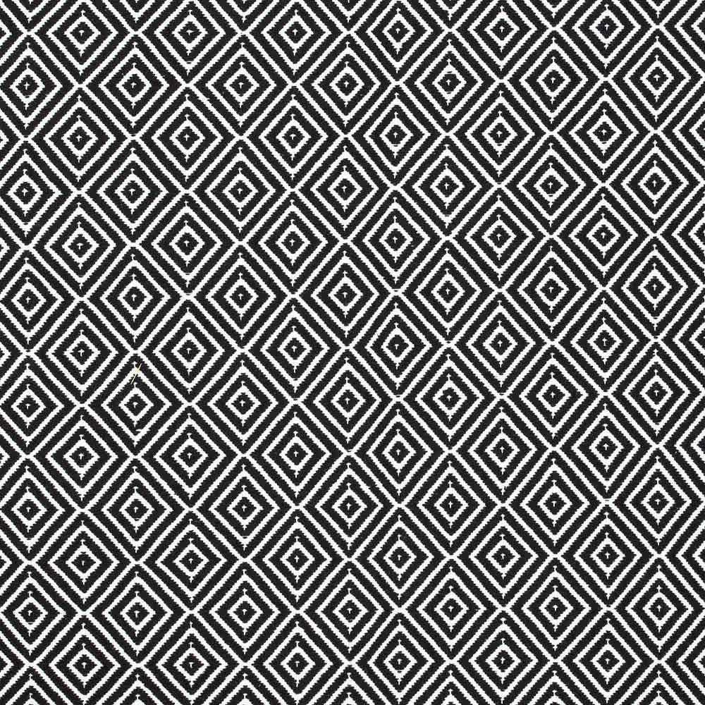 Baumwollteppich adora teppich in schwarz wei teppiche f r jeden geschmack - Baumwollteppich schwarz weiay ...