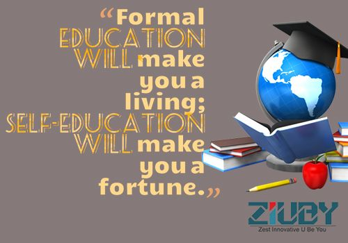 Ziuby #Quotes #Education    wwwziuby  India - software quote