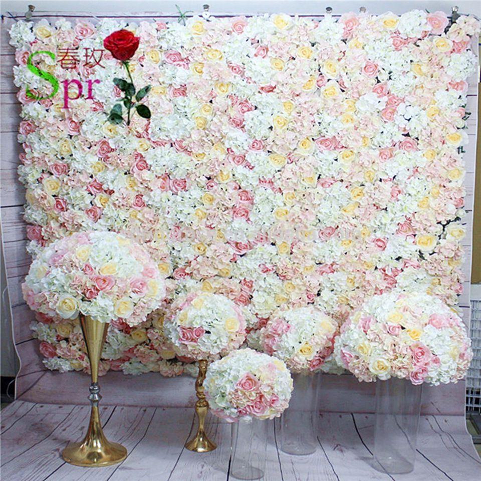 Good quality custom made wedding flower wall backdrop decoration good quality custom made wedding flower wall backdrop decoration hanging artificial flowers wholesale mightylinksfo