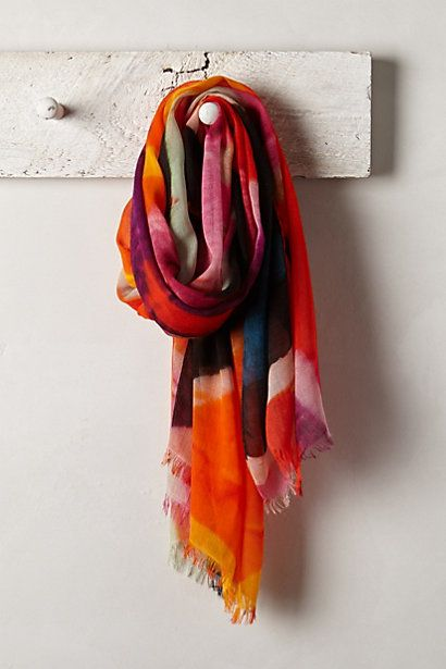 Abstract Graffiti Scarf - anthropologie.com