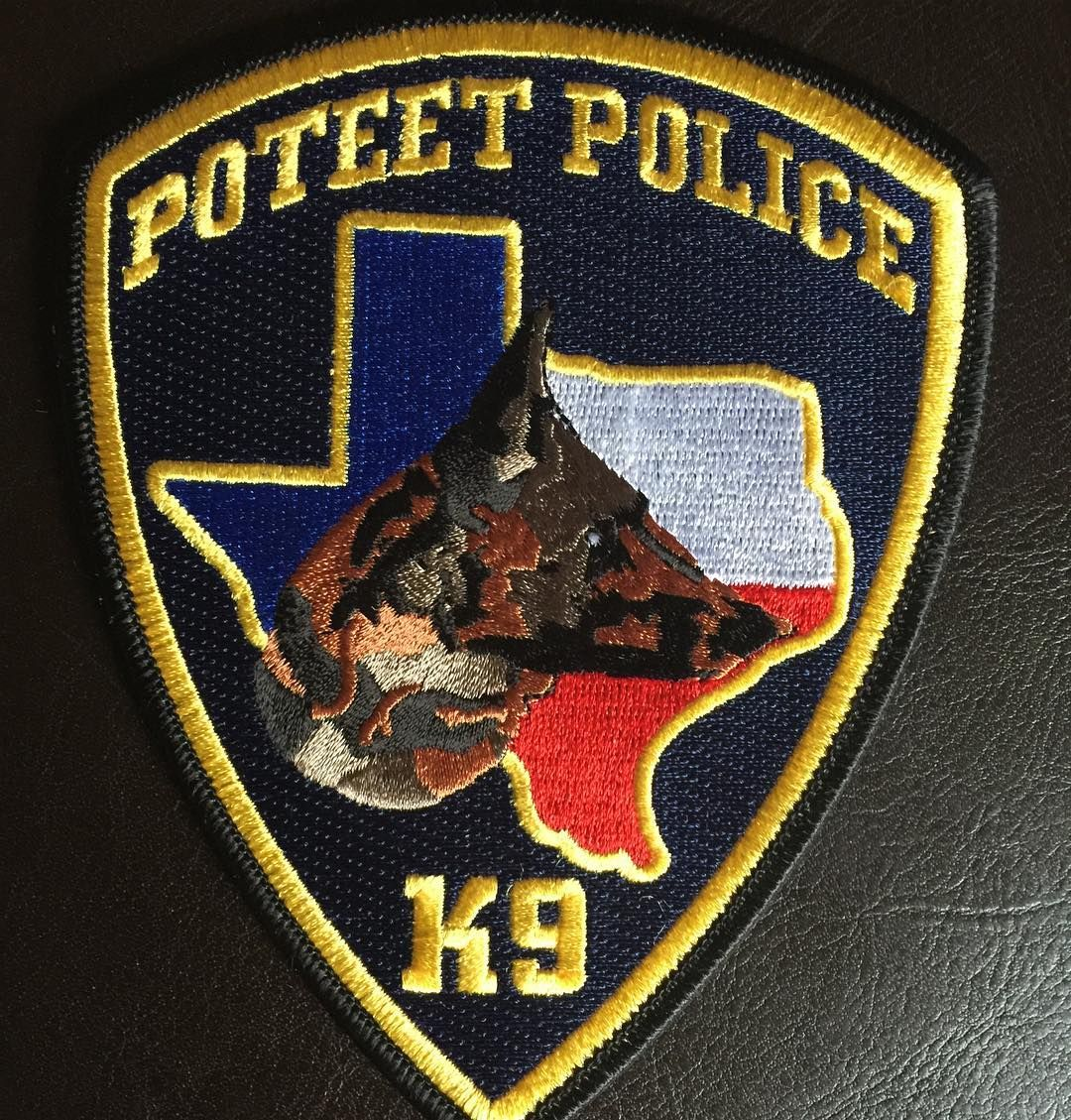 #poteet #poteetpolice #poteetk9 #poteetpolicek9 #policek9 #k9 #k9police #police #patch #policepatch by police_patch_collector