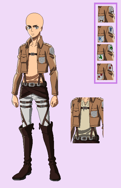 attack on titan uniform reference - Google Search