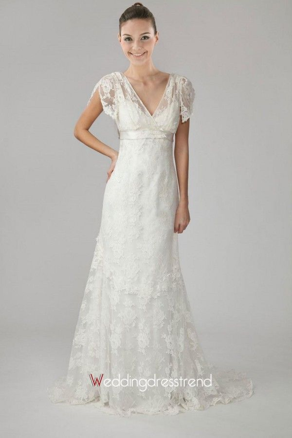 0a11452dc74 Vintage 1950s  Lace Wedding Dresses 2018 Lihi Hod Lace Wrap Elegant Sweep  Train Bohemian Country Low Back Wedding Gowns Mermaid Wedding Dress Long  Sleeve ...