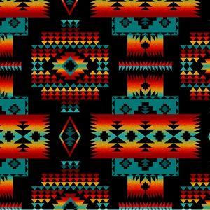 Indian Blanket Fleece Fabric Drum Bag Chief S Blanket