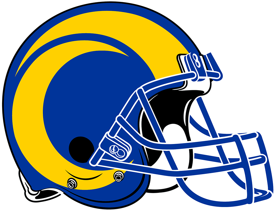 Los Angeles Rams In 2020 Football Helmets Rams Football Nfl Logo Quiz