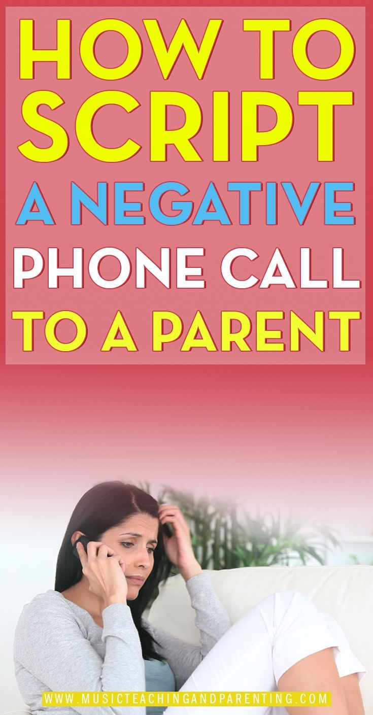 Very Helpful Person: Very Helpful Tips For Scripting A Phone Call To A Parent