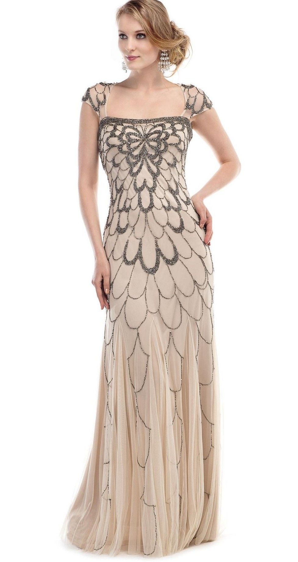 FlapperDress #Gatsby #17s #17s #Charlston #Dresses  17er jahre