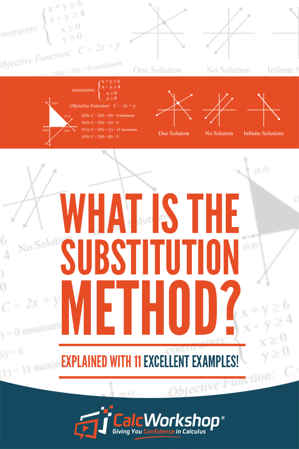 What is the Substitution Method? - (just 3 simple steps