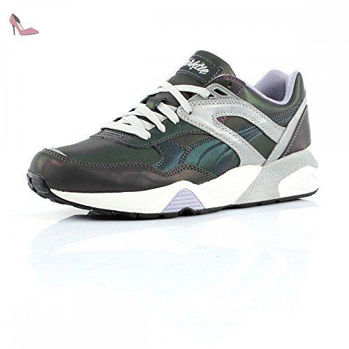 chaussure puma r698 blanche