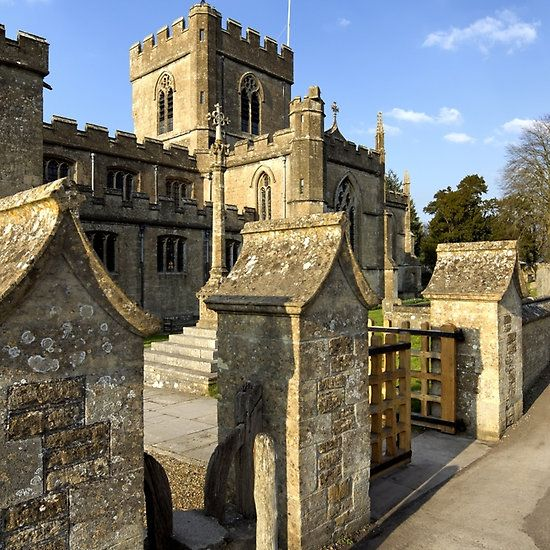 Edington Priory Church, Wiltshire, UK