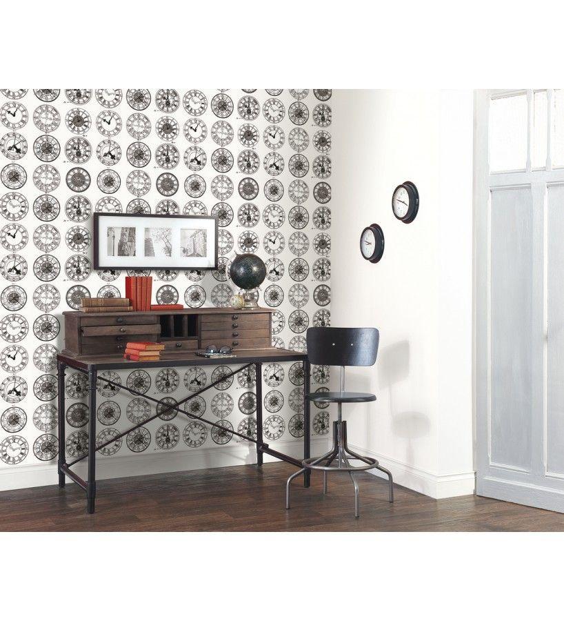 papel pintado caselio black and white papeles pintados vintage con toques modernos una