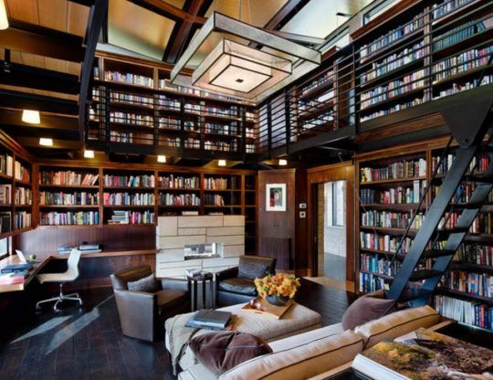 20 Wonderful Home Library Ideas Home Library Design Home
