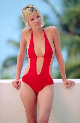Ashley scott bikini wallpapers