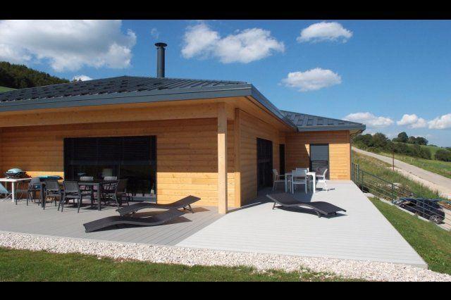 Myotte Duquet architecture bois, Plain-pied | maison | Pinterest ...