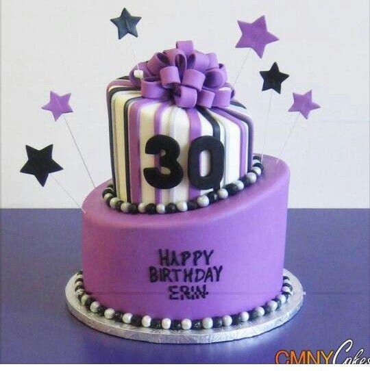 Pin de cheryl wadsworth em cakes and such pinterest bolo aniversrio bolinhos festa bolos de aniversrio roxos bolos de aniversrio 30 festas de aniversrio de 30 anos bolo de 30 anos bolos roxos altavistaventures Images
