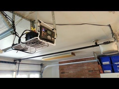 Diy Solar Powered Garage Door Off Grid Step By Step So