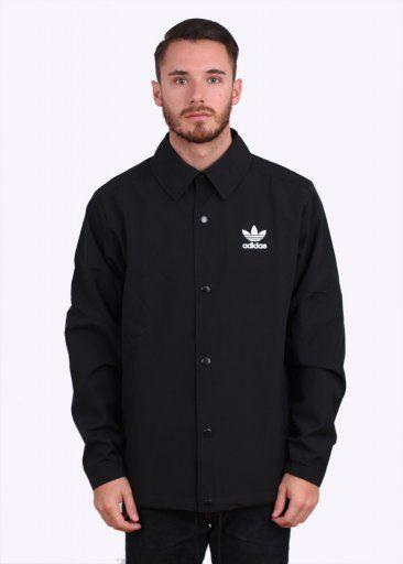 0abc3e70d7302 Adidas Originals Apparel Kaiser of New York Beckenbauer Coach Jacket - Black