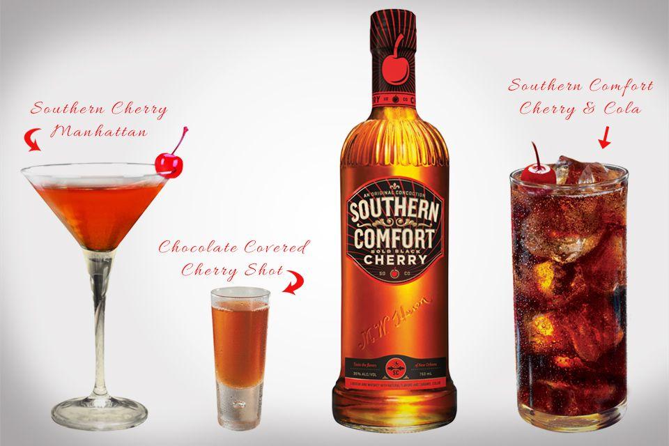 Southern Comfort Bold Black Cherry Recipes Black Cherry Recipes