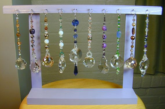 Exhibition Stand Wholesale : Wholesale crystal suncatchers with retail store display