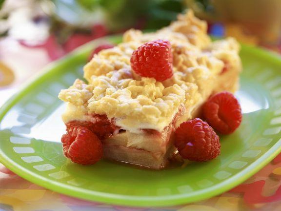 Himbeer-Streuselkuchen ist ein Rezept mit frischen Zutaten aus der Kategorie Streuselkuchen. Probieren Sie dieses und weitere Rezepte von EAT SMARTER!