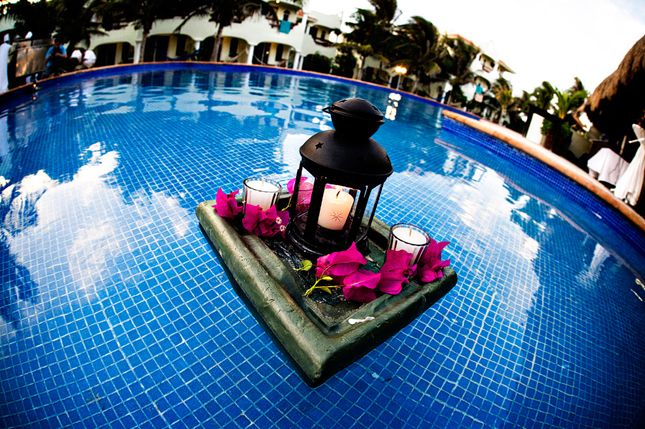 Gorgeous Pool Decorations For Weddings | Pool decorations ...