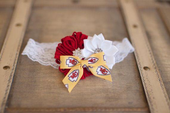 Kansas City Chiefs Headband Baby Headband