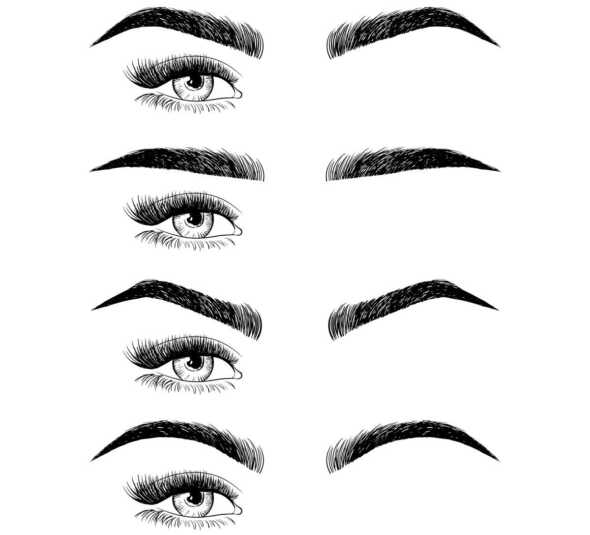 The ultimate guide to the best eyebrow shapes for your ...