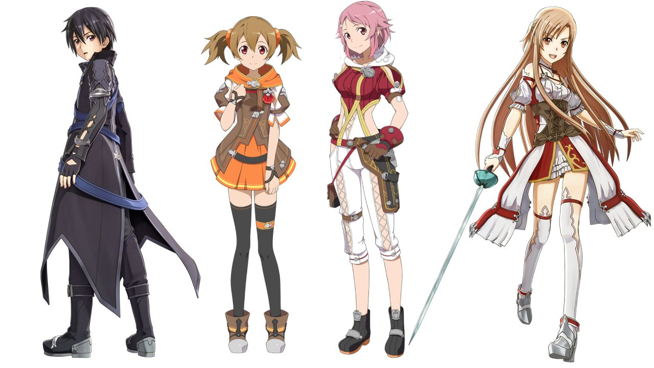 Sword Art Online: Hollow Realization(video game) - Kirito, Silica