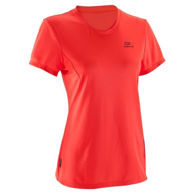 0 00 Running Textil Camiseta De Manga Corta De Mujer Kalenji Ekiden Naranja Kalenji Mens Tops Shirts Men S Polo Shirt