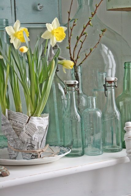 VIBEKE DESIGN: daffodils.  spring.  <3.
