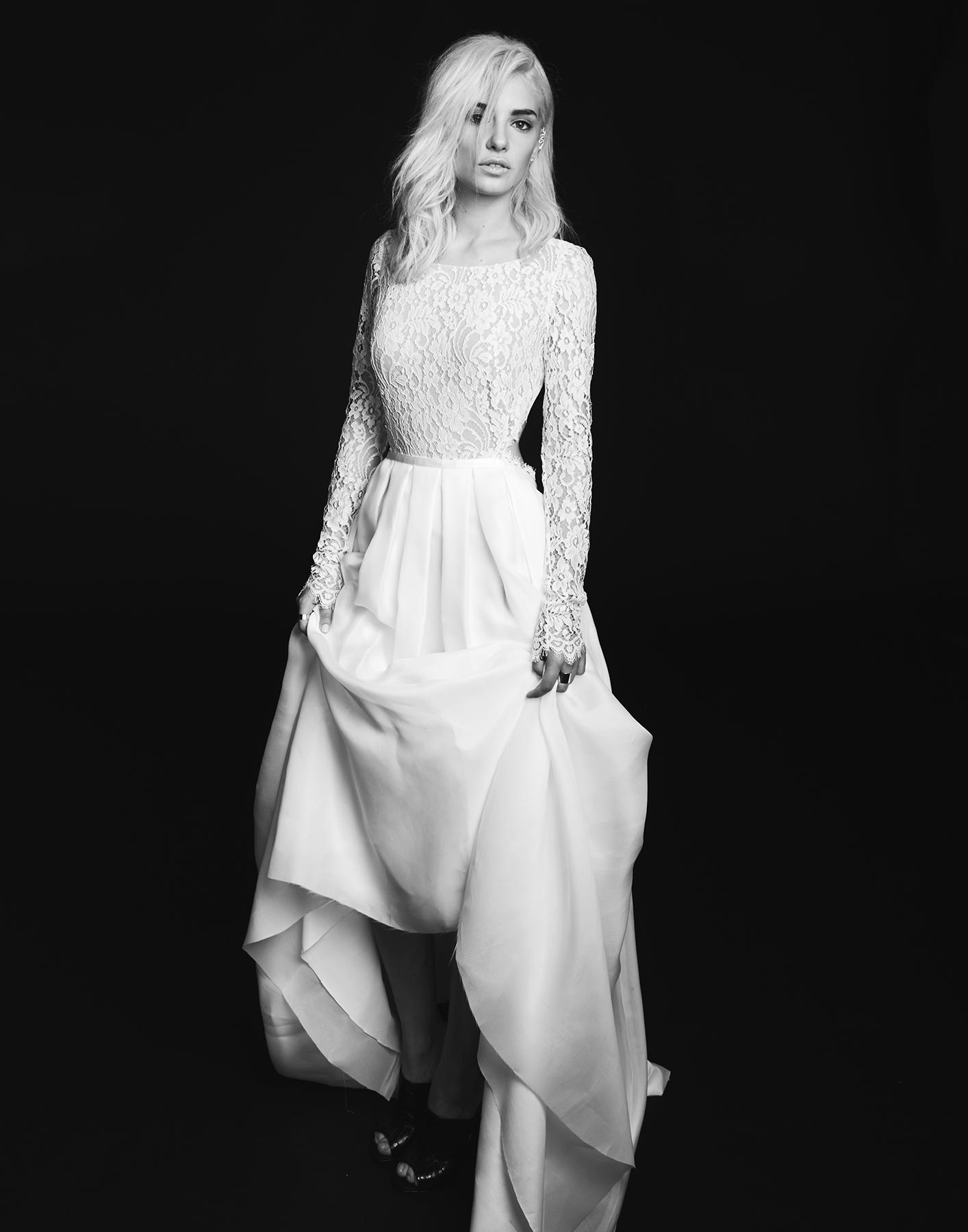 Mariée015 Lookbook | Rime Arodaky | Creatrice de Robe de Mariée