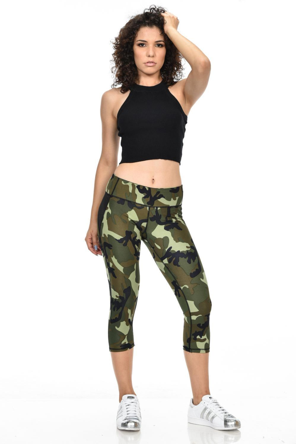 4b4fa09bb1 Free Shipping. Buy Diamante Women's Power Flex Yoga Pants Leggings  Sportswear - Sport Pants - Style C160 at Walmart.com