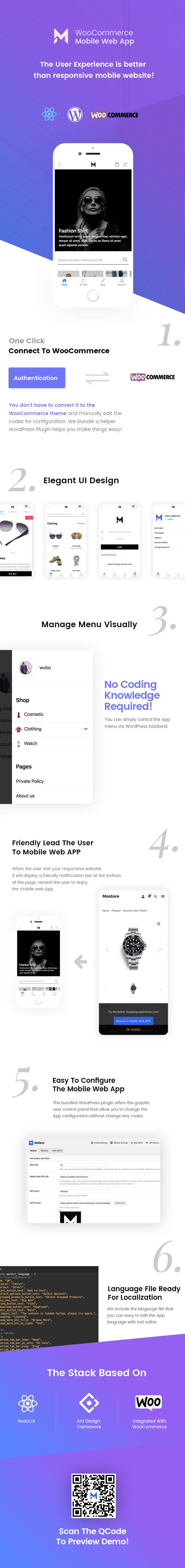 Mostore - React Redux Mobile Web App For WooCommerce Online